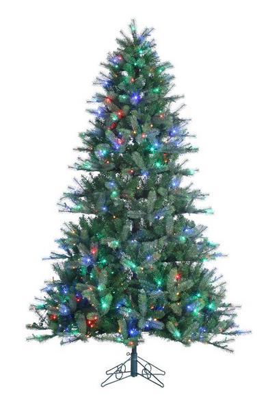 Slim Pre Lit Christmas Trees